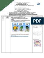 jueves 11 de febrero actividades de lengua y literatura los dialectos.