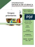 grupos prioritarios