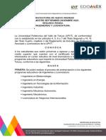 Convocatoria Universidad Politécnica del Valle de Toluca segunda ronda 2021