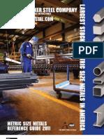 metric steel material stoke sizes