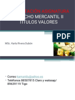 PRESENTACION DERECHO MERCANTIL  II (1)