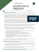 psicologia de la emocion