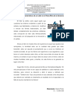 Características de un líder en el plano ético de la gerencia