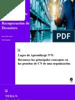 Ppt 09 _ Continuidad de Negocio y Recuperación de Desastres
