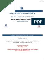 ULTRASONIDO EN OBSTETRICIA ENARM 2018