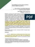 TRICHES e ARANDA_O percurso de formulação da base nacional comum curricular (BNCC)