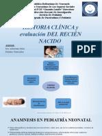Historia Clinica Del Recien Nacido