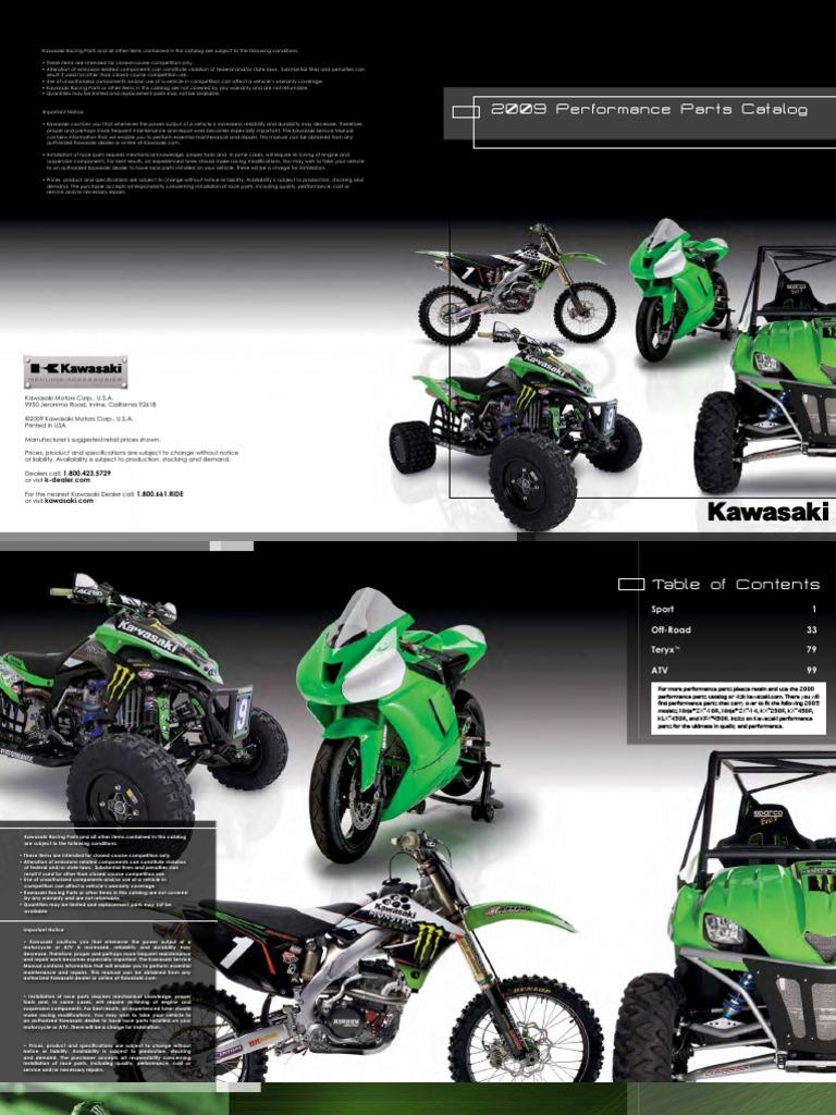 4T 2008 KX250T8F Kawasaki KX 250 F 250 CC - Cylinder Head Mounting Rubbers
