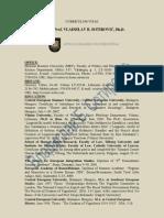 Sotirovic Resume CV 26 March 2011