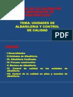 Clase 5 - Supervisión de Obra -Albañileria