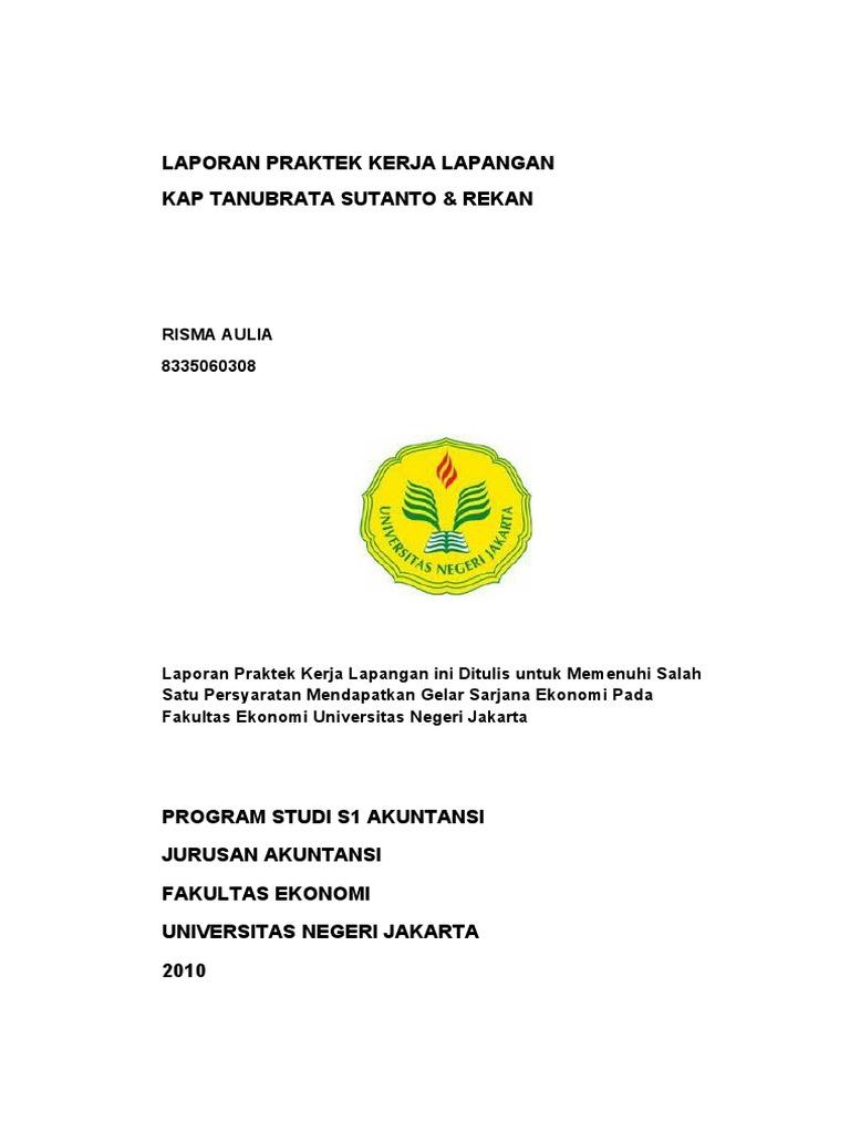 Laporan Pkl Risma Aulia 8335060308