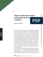 freud as a media theorist
