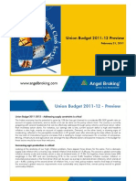 Union Budget 2011-12 Preview-210211
