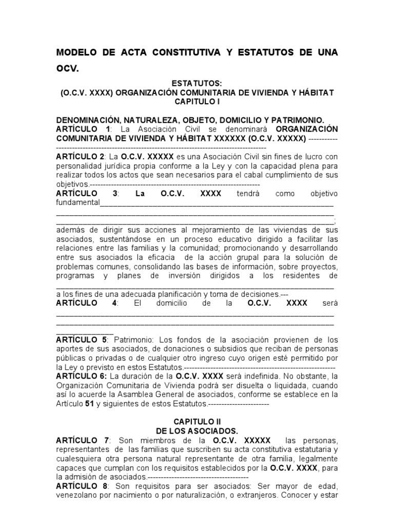 Perfecto Estatutos Sin Fines De Lucro Plantilla Ilustración ...