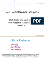 Cosmology - USP Tea Session 18 March 2011