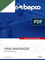 Catalogue BEPCO attelage