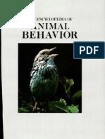Encyclopedia of Animal Behavior1