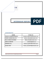 Yunus textile mill internsip report
