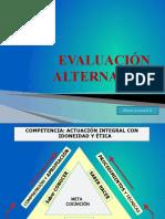 evaluación alternativa