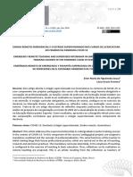 Texto 1 - Ensino Remoto Emergencial e o Estágio Supervisionado Nos Cursos de Licenciatura No Cenário Da Pandemia Covid 19