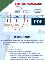 Ingenier+¡a Ambiental TRATAMIENTOS PRIMARIOS