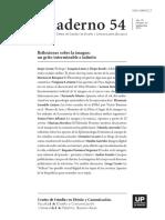 """La materia """"Visión"""" en la enseñanza  de la Arquitectura en la Argentina"""