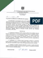 Dispoz. Nr. 542 d Din 15.07.2021 Confirmarea Certificatelor de Vaccinare