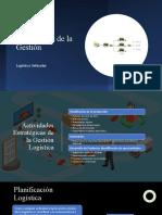 LOGISTICA VEHICULAR 1.2 Actividades de la Gestión  PERIODO 58 UNIDAD 1 (1)