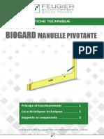 Fiche Technique Biogard Manuelle Pivotantes Feugier Environnement Fr