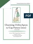 FREE Utility Apron Sewing Pattern 1940s