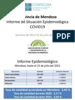 MENDOZA 15jul21 Informe de Situación Epidemiologica