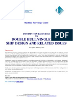 DOUBLE HULL - SINGLE HULL SHIP DESIGN _28 January 2010