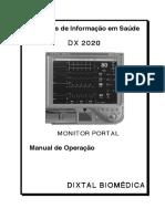 Dixtal DX 2020 (Portuguese) Manual