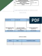 PLAN DE MINIMIIZACION DE  RESIDUOS SOLIDOS CTSR 2018