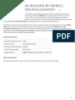 Comprobaciones de la tabla de clientes y proveedores antes de la conversión