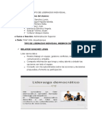 TIPO DE LIDERAZGO- ADM SUPERIOR G2