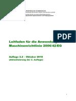 Leitfaden Fuer Anwendung Maschinenrichtlinie 2006 42 Eg 1