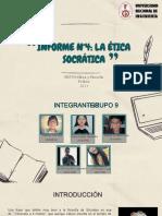 INFORME4-ÉTICA- ETICA SOCRATICA