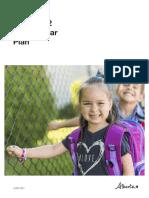 Alberta School Year Plan 2021 2022