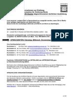 Informationen Zu Einer EU- Und EWR-Ausbildung in Medizin