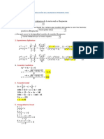 Solución Examen Matemática Farmacia