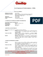 FISPQ - ÁGUA SANITÁRIA CLASSLIMP