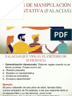 FALACIAS DE SUFICIENCIA (1)