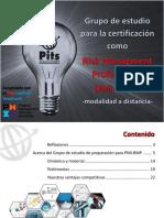 Brochure del Grupo de Estudio para PMI-RMP Cap Ven