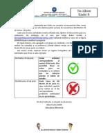 Guía de trabajo al hogar N°14 -  KB
