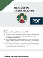 APS 2 - Reações de Hipersensibilidade (slides)