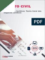Aula 4 - Fatos e Atos Jurídicos. Teoria Geral dos Negócios Jurídicos
