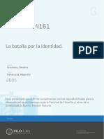 Scoufalos_El Decreto 4161_La Batalla Por La Identidad