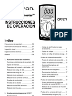 AutoTroubleShooter CP7677 Spanish