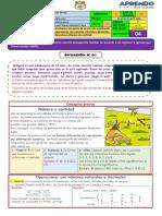 I BIMESTRE -  1° GRADO - ACTIV 04